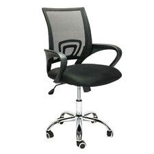 Ergonomic Office Mesh Chair Swivel Mid back Home Computer Desk Chair Metal Base