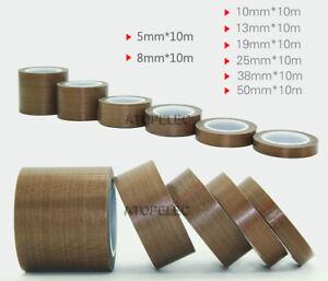 PTFE Adhesive Tape Cloth Heat Resistant 300℃ Vacuum Sealing Machine 0.13mm*10M