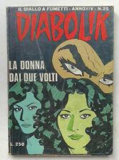 DIABOLIK N° 25 anno XIV Astorina 1975