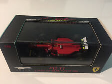 Ferrari 412 T1 Great Britain GP Formule 1 F1 1994 Alesi Mattel Elite 1/43