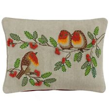 15abee58b8825 Christmas 100% Cotton Decorative Cushion Covers for sale | eBay