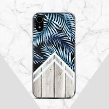 Tropical iPhone 11 XR Case Geometric iPhone 6 SE XS Cover Wood iPhone X 7 8 Plus