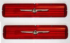 1964 T-Bird Thunderbird Tail Light Lenses PAIR Lens 2 Both Left and Right