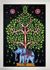Indian Mandala Tree of Life Wall Hanging Bedspread Throw Home Decor Tapestry