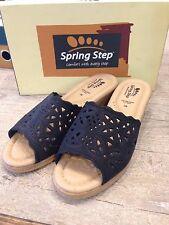 Spring Step Estella Comfort Slip On Wedge black 42 US 10.5 11 Shoes Women