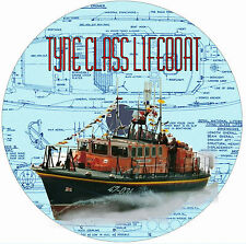 Model Boat PlansRADIO CONTROL MODEL TYNE CLASS LIFEBOAT Plan & Building Notes