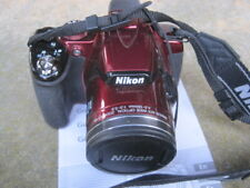 Nikon Cooplix P520 18.01, 3.2 Wide optical digital camera red 42 optical zoom,