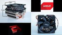 AMD Heatsink CPU Cooling Fan for AMD FX 8000 Series Processor Socket AM2 AM3 New