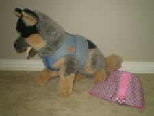 Dog Coats:Yuppy Yaps Fabric Harness sizes extra small and small Assorted colours