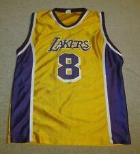 ☆ Vintage LA LAKERS KOBE BRYANT #8 Jersey Shirt Youth XL - A Classic!