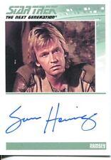 Star Trek TNG The Complete Series 1 Autograph Card Sam Hennings