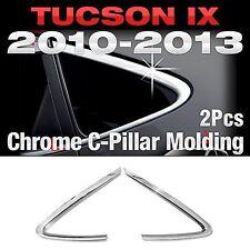 Chrome C Pillar Window Sill Molding Trim B902 For HYUNDAI 2010-2014 Tucson ix35