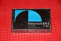 NAKAMICHI   EX II    C-90   TYPE II   BLANK CASSETTE TAPE (1)   (USED)