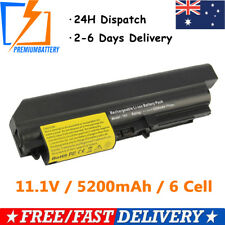 6 Cell Laptop Battery For Lenovo ThinkPad R400 R61 T61 R61i 7732 T61 T61p T400