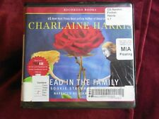 Charlaine Harris - DEAD IN THE FAMILY -  Unabridged Audio CDs (Ex-Lib)