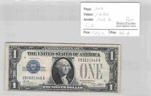 BILLET USA - 1 dollar - 1928 A - RARE - V93631046A