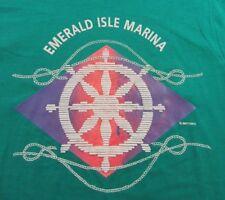 Nos Vintage 80's Emerald Isle Marina Kentucky Vacation T Shirt Size M (Nwot)