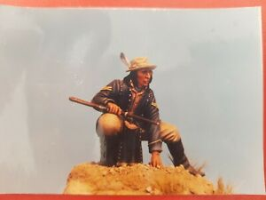 Harton Miniatures - crow cavalry scout resin 90mm