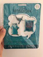 Disney Wisdom Meeko Pocahontas Pins Badges Pin Set 5/12, New, Limited Release