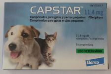 Capstar Flea Treatment Tablets for Cats and Dogs 6 tablets