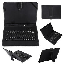 """Keyboard and leather case 2 in 1 With Suitable for 10""""/10.1"""" inch Android Tablet"""