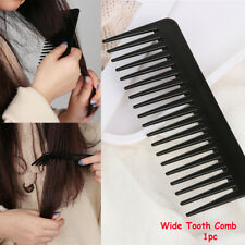 Portable  Plastic  Hair cut Hairdressing  Hair Styling Tools Wide Tooth Comb