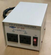 Philmore St500 500 Watt 110220 Volt Step Up Or Step Down Transformer