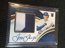 TRAYCE THOMPSON(RC)-2016 IMMACULATE-ROOKIE PREMIUM PATCH AUTOGRAPH 09/25