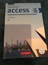 Access 5 Abschlussband. Workbook Lehrerfassung. Mit den Lösungen
