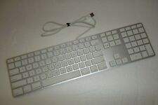 Apple A1243 iMac MacBook G5 iSight USB Keyboard w/2-Port USB Hub 2171 MB110LL/A