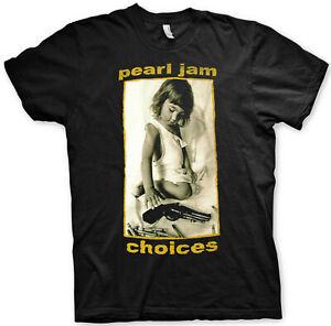 PEARL JAM Choices T-SHIRT OFFICIAL MERCHANDISE