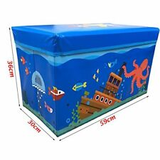 Kids Bedroom Storage Box Children Padded Stools Seat Bench Gifts For Boy & Girl