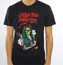 Nixon High Tide Short Sleeve Tee T-Shirt (M) Midnight Navy S16571242-02