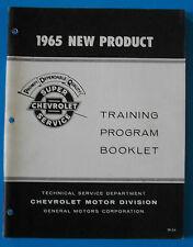 1965 Chevrolet New Product Training Program Manual