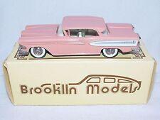 Brooklin Models 1:43 EDSEL CITATION 2-DOOR HARDTOP Car Pink 1958 BRK22 MIB`85