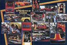 1982 Great Centerfold Pic of Western Union Car Show GTO Corvette Cuda Camaro