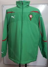MOROCCO GREEN COACHES JACKET BY PUMA SIZE MEN'S LARGE BRAND NEW WITH TAGS