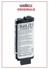 Batteria ORIGINALE Logisty mod. BatLi31 Pila Litio 3,6V 1 Ah