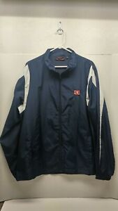 Mens Jacket Sports Illustrated Dark Blue Size Large Brand New with out tags