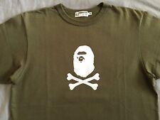 A Bathing Ape Crossbones Felt Logo T Shirt Bape Nigo