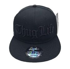 6dc7828d NEW THUG LIFE SNAPBACK BASEBALL CAP HIP HOP ERA FITTED FLAT PEAK HAT