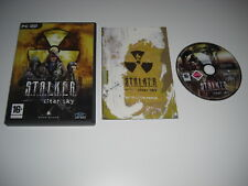 STALKER - CLEAR SKY Prologue Pc DVD Rom Standalone Expansion - FAST POST
