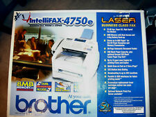 Nice Brother Intellifax 4750e Laser Fax Machine Copy Fax Print