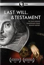 Last Will. & Testament (DVD, R1, 2012 PBS) Derek Jacobi, Vanessa Redgrave - NEW