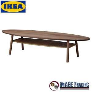 NEW IKEA STOCKHOLM Walnut Veneer Coffee table -  (70 7/8x23 1/4)