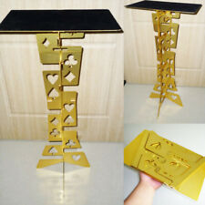Aluminum Magic Folding Table (Alloy)- Golden color Magician's best table stage