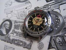 RELOJ VOSTOK  / RUSSIAN  VOSTOK  WATCH  GENERALSKIE UNIDIRECTIONAL BEZEL