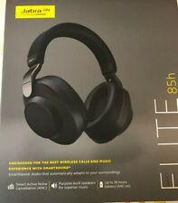 Jabra Elite 85h Bluetooth H/phones with 'Smart Sound' Active Noise Cancellation