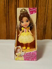 Disney Princess Mini Toddler Belle Sparkle Collection Posable Doll Stocking Stuf