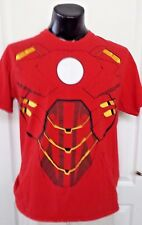 Marvel Comics Avengers Ironmen Movie Chest Torso Red T Shirt Large Rare